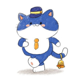 How to Draw a Cartoon Cat Conductor Step by Step