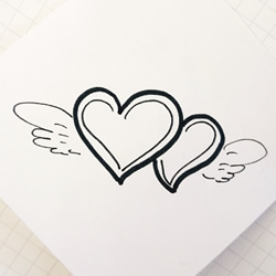 Pictures of Hearts to Draw for International Happiness Day