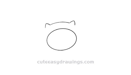 How to Draw a Cat Paw Cup Step by Step