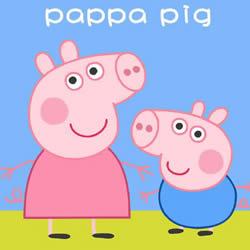 How to Draw Peppa Pig and George Pig Step by Step