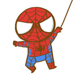 How to Draw a Cartoon Spider-Man Step by Step