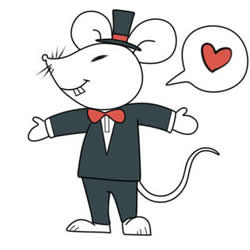 How to Draw a Mr Mouse Step by Step