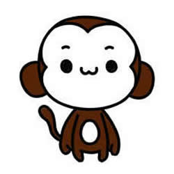 How to Draw a Cartoon Little Monkey Step by Step