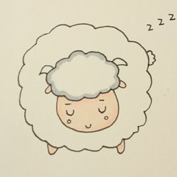 How to Draw a Little Sheep Step by Step