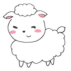 How to Draw a Cute and Beautiful Sheep Step by Step