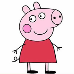 How to Draw Peppa Pig Step by Step for Kids