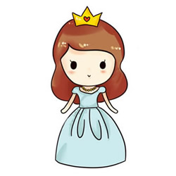 How to Draw a Beautiful Princess Step by Step