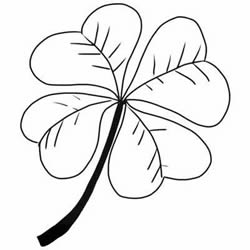 How to Draw a Four-Leaf Clover Step by Step for Beginners
