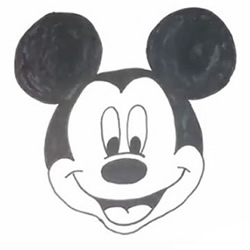 How to Draw a Mickey Mouse Step by Step for Beginners