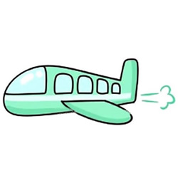 How to Draw a Passenger Plane Step by Step for Kids