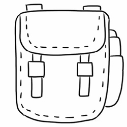 How to Draw a Backpack Step by Step for Beginners