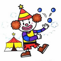 How to Draw a Circus Clown Step by Step for Kids