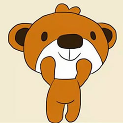 How to Draw a Cartoon Bear Step by Step for Kids