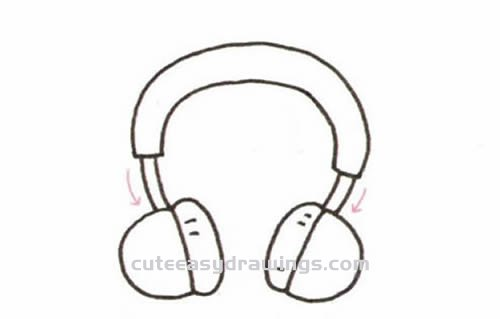 How to Draw a Headphone Step by Step for Kids