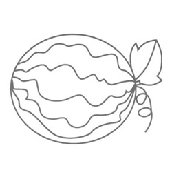 How to Draw a Fresh Watermelon Step by Step for Beginners