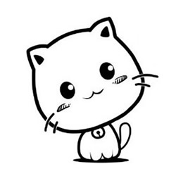 How to Draw a Cute Clever Kitten Step by Step for Kids