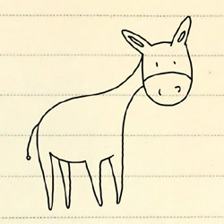 How to Draw a Donkey Step by Step for Beginners