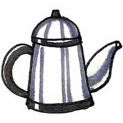 How to Draw a Kettle Step by Step for Kids