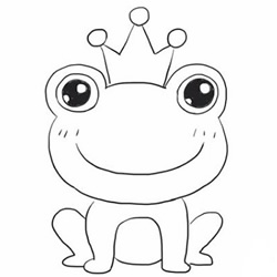 How to Draw a Cute Frog Prince Step by Step for Beginners