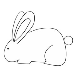 How to Simple Draw a Rabbit Step by Step for Beginners