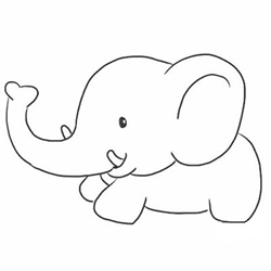 How to Draw a Funny Cartoon Elephant Step by Step for Beginners
