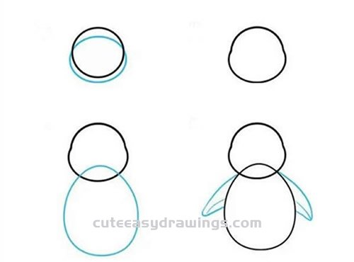 How to Draw a Cute Penguin Step by Step for Kids
