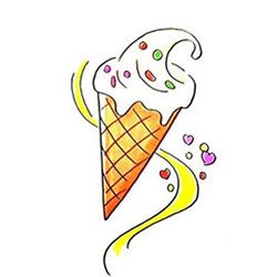 How to Draw a Delicious Ice Cream Step by Step for Kids