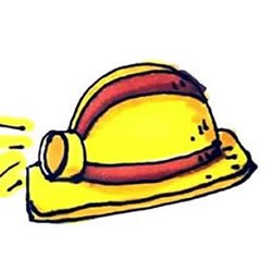How to Draw a Safety Helmet Step by Step for Kids
