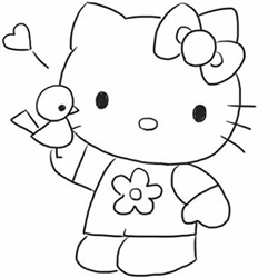 How to Draw a Cartoon Hello Kitty Step by Step for Beginners