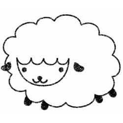 How to Draw a Cute Little Sheep Step by Step for Kids