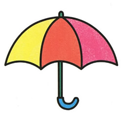 How to Draw a Children's Umbrella Step by Step for Kids