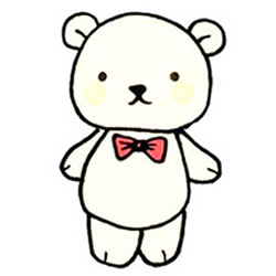 How to Draw a Bear Doll Step by Step for Kids