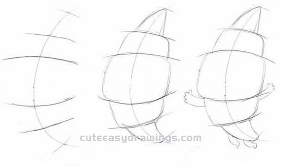 How to Draw a Cute Cartoon Croissant Step by Step for Beginners
