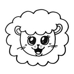 How to Draw the Head of a Little Lion Step by Step for Kids