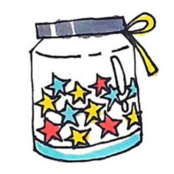 How to Draw a Wishing Bottle Step by Step for Kids