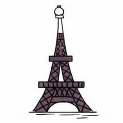How to Draw the Eiffel Tower in Paris Step by Step for Kids