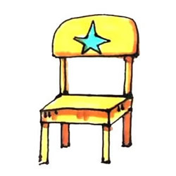 How to Draw a Children's Chair Step by Step for Kids