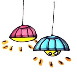 How to Draw a Lighted Chandelier Step by Step for Kids