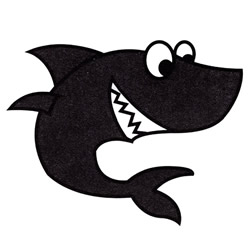 How to Draw a Funny Cartoon Shark Step by Step for Kids