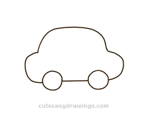 How to Draw a Cute Car Step by Step for Kids