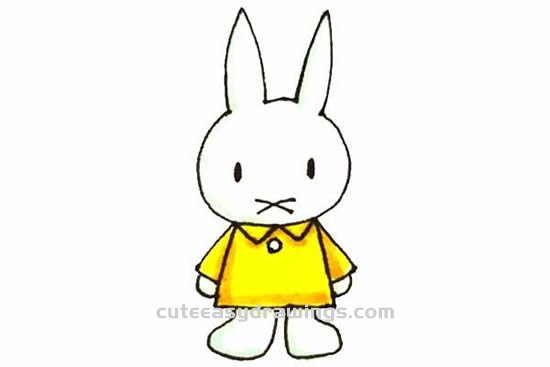How to Draw the Miffy Bunny Step by Step for Kids