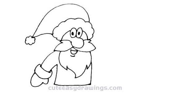 How to Draw a Santa Claus Step by Step for Beginners