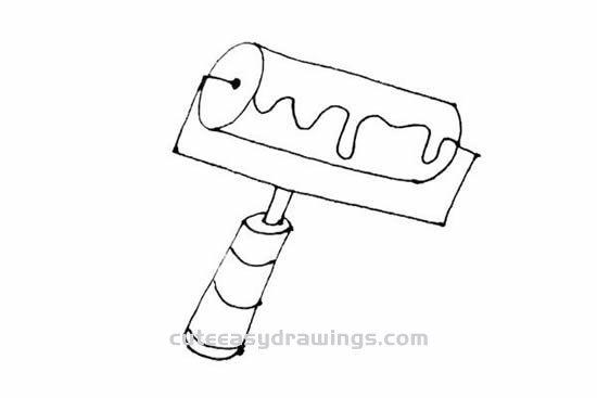 How to Draw a Wall Brush Step by Step for Kids