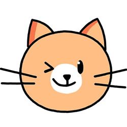 How to Draw a Cute Cat Avatar Step by Step for Kids