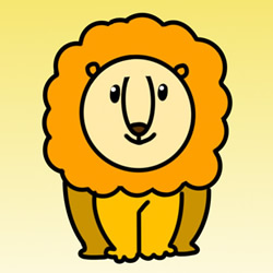 How to Draw a Big Friendly Lion Step by Step for Kids