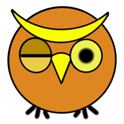 How to Draw a Blinking Cartoon Owl Step by Step for Kids