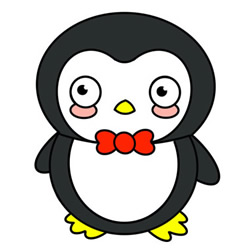 How to Draw a Baby Penguin Easy Step by Step for Kids