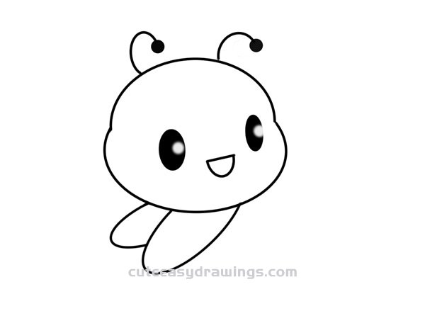 How to Draw a Bee Baby Easy Step by Step for Kids