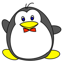 How to Draw a Cartoon Penguin Easy Step by Step for Kids