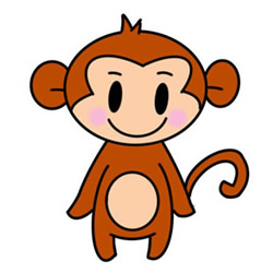 How to Draw a Little Monkey Easy Step by Step for Kids